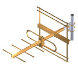 Exemplo de antena Yagi de 5 elementos com grade Refletora E_antena_yagi_3e