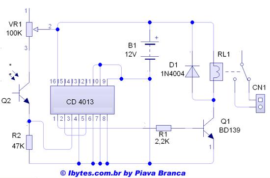 Circuito Ups 12v : Circuito carregador de bateria solar circuit diagram maker