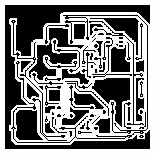 Circuito Jammer : Sistema de bloqueador sinal gps com esquema eletrônico