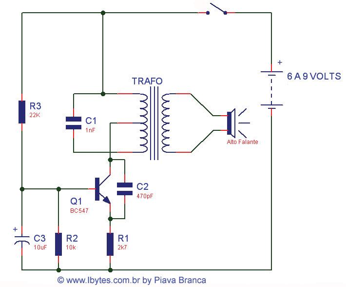 Circuito Oscilador : O oscilador hartley tem como característica um circuito lc
